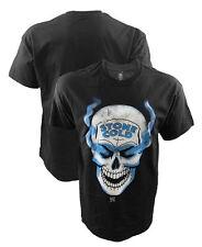 WWE Stone Cold Steve Austin Smoking Skull Black T-Shirt