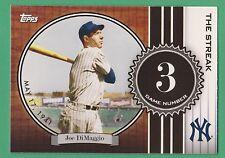 2007 Topps The Streak Joe Dimaggio New York Yankees #JD3