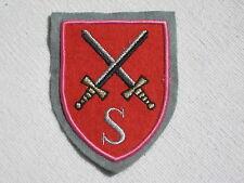 Bundeswehr Insigne de l'Association brodé insignes armée flugabwehrschule