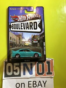 Hot Wheels BOULEVARD - HONDA CIVIC COUPE [TEAL] NEAR MINT COMBINED POSTAGE