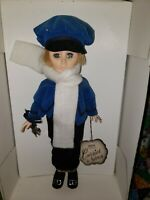 """Effanbee Doll, Boy """"Skater"""" from the Currier and Ives Collection 1251 boxed blon"""