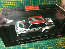 KYOSHO 1/18 Rallye FIAT 131 Alen Portugal 1978 RARE