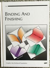 New ListingBinding And Finishing Gatf Printed Graphics Manual Guide Book