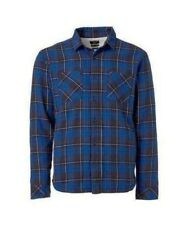 QUIKSILVER Men's SHERPAL Flannel - BRQ0 - Large - NWT - LAST ONE LEFT