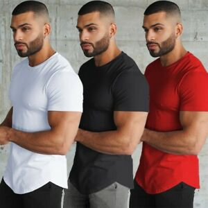 2020 Quick Dry Running T-shirt Fitness Tight Short Sleeve T-Shirts Gym T Shirt