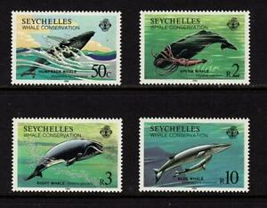 Seychelles 1984 Whale Conservation Wale