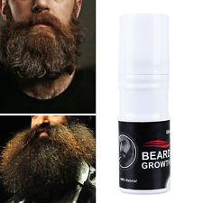 Men Beauty Hair Nutrition Grow Facial Fast Beard whiskers Growth Spray