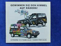 Citroen C15 Familiale - Prospekt Brochure 04.1993