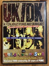 UK/DK: A Film About Punks and Skinheads DVD Exploited Vice Squad Adicts Blitz