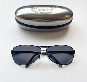 Ray Ban RB3324 Black Aviator Fashion Sunglasses With New Grey Lenses