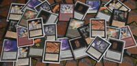 MAGIC - LOT OF 25 OLD SKOOL MTG CARDS - Unlimited Revised Ice Age Mirage Visions