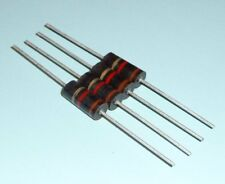 4x Org. Allen Bradley 1k 1000 Ohm 2W Capas de Carbono Widerstand para Audio
