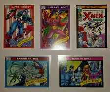 Marvel Universe Series 1, 2, and 3 Trading Card singles - U PICK 3 MIX N MATCH
