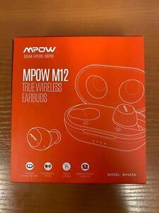 Wireless Earbuds Mpow M12 in-Ear Bluetooth 5.0 USB Waterproof Sports Earphones