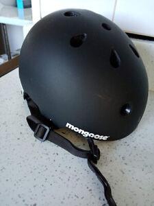 Mongoose Urban Youth/adult Hardshell Helmet for Scooter/BMX Size Medium 55-58cm