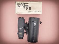 Nikon 200mm f4 D ED AF Nikkor Micro Lens