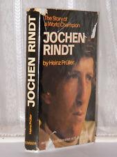 Heinz Pruller - Jochen Rindt 1st Ed 1971 / Motor Racing