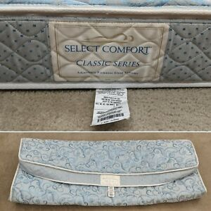 Select Comfort Classic Series E. King Mattress Pillow Top and Bottom Cover