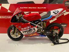 Signed - Minichamps 1:12 - Michael Rutter - Ducati 998rs - Macau GP 2002