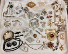 Vintage+%26+Antique+Rhinestones+Jewelry+Lot%2C+Some+Very+Old%21+Surprises