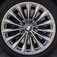 "BMW F10 F07 F01 F02 5 & 7 Series OEM 252 Style Radial Spoke 19"" Wheels Forged"