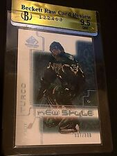MARTY TURCO 2001-02 SP Game Used New Style # 837/900 Graded BECKETT 9.5 Raw GEM
