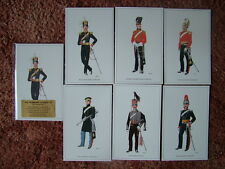 THE BRITISH ARMY SERIES - THE YEOMANRY CAVALRY (1).  6 card set.  Mint Condition
