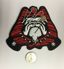 Georgia Bulldogs 3 Embroidered Iron on Patch