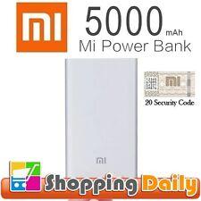 Genuine XIAOMI 5000mAh Ultra-thin MI Power Bank Mobile Phone USB Charger