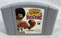 Ready 2 To Rumble Boxing (Nintendo N64, 1999) Cart Authentic Tested Works Great