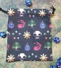 Magic The Gathering dice bag, card bag, makeup bag