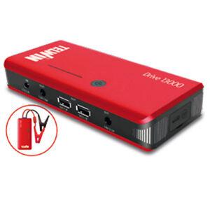 Avviatore portatile ultracompatto di emergenza moto auto 12V TELWIN Drive 13000