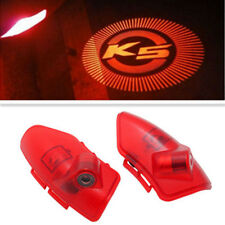 2x Car LED Door Light Courtesy Logo Projector For KIA K5 OPTIMA CERATO Forte