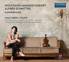 WOLFGANG AMADEUS MOZART, ALFRED SCHNITTKE: KAMMERMUSIK NEW CD