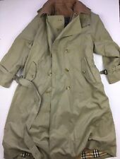 Vintage Burberry(S) (Made in England) Double Breasted Trenchcoat VTG