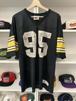 Vintage Pittsburgh Steelers Greg Lloyd Jersey Sz XL Logo Athletic 90s NFL