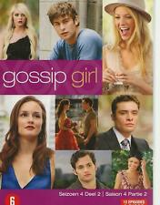 3 DVD box - GOSSIP GIRL SEASON SAISON 4 PART 2 ENGLISH FRANCAIS region 2 PAL
