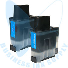 2 CYAN LC41 HIGH YIELD LC41C Ink Cartridge Compatible for BROTHER Printer