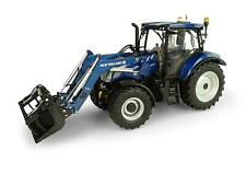 UNIVERSAL HOBBIES- 5320 NEW HOLLAND T6.175 FRONT LOADER TRACTOR 1:32 SCALE