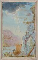 Salvador Dali: Die Angels Of Paradise - Selten Kunstblatt Signiert &