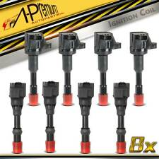 8x Ignition Coils for Honda Jazz II GD Jazz III GE Civic VII Hybrid 1.3L L13A1