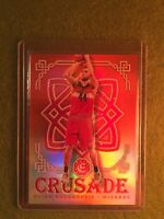 BOJAN BOGDANOVIC PRIZM REFRACTOR BASKETBALL CARD Excalibur Crusade Red Prism /99