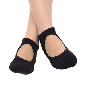 Anti-slip Professional Gym Yoga Socks Backless Fitness Stockings for Womens MP