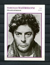 Starkarte Marcello Mastroianni - Eifersucht auf italiensich  1970  (ST6)