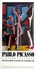 Pablo PICASSO The Dance Retrospective MOMA New York 1980 Poster
