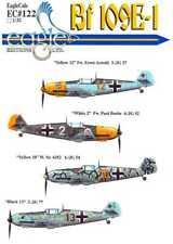 EagleCals Decals 1/32 MESSERSCHMITT Bf-109E-1 Fighter Part 3