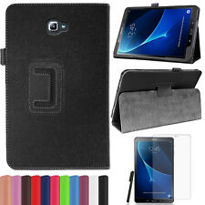 Samsung Galaxy Tab A 10.1  T580/585 A6 2016 Tasche Leder-Imitat Etui+Pen+Folie-2