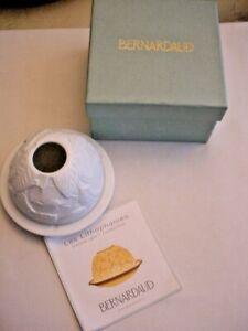 Bernardaud Lithophanies Votive Light Magnolia Blossoms - New in Box France