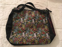Ed Hardy Tote Bag For Gym,School,Beach,Or Shopping