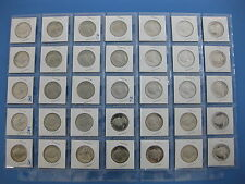 1968-S thru 1998-S Gem Proof Quarter 35pc Set with 1965-7 SMS & Both T-2 issues